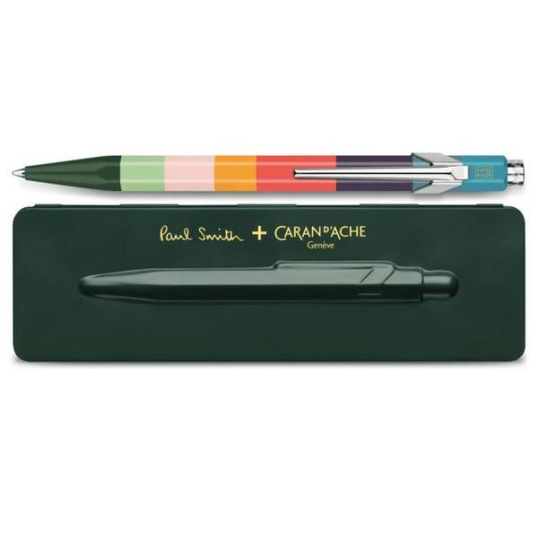 Caran d'Ache 849 Paul Smith Limited Edition Ballpoint Pen Ball Point Pen Caran d'Ache Racing Green