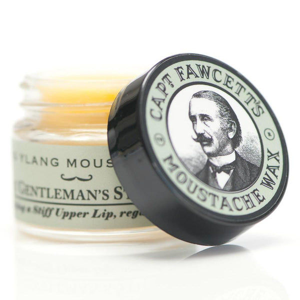 Captain Fawcett Moustache Wax, Ylang Ylang - Fendrihan - 4