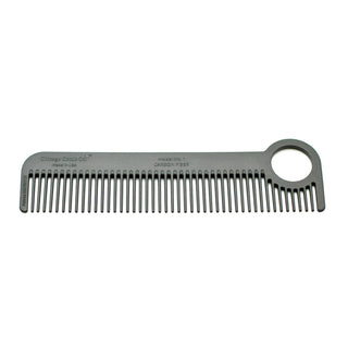 Chicago Comb Co. Model No. 1 Carbon Fiber Medium-Fine Tooth Comb Comb Chicago Comb Co