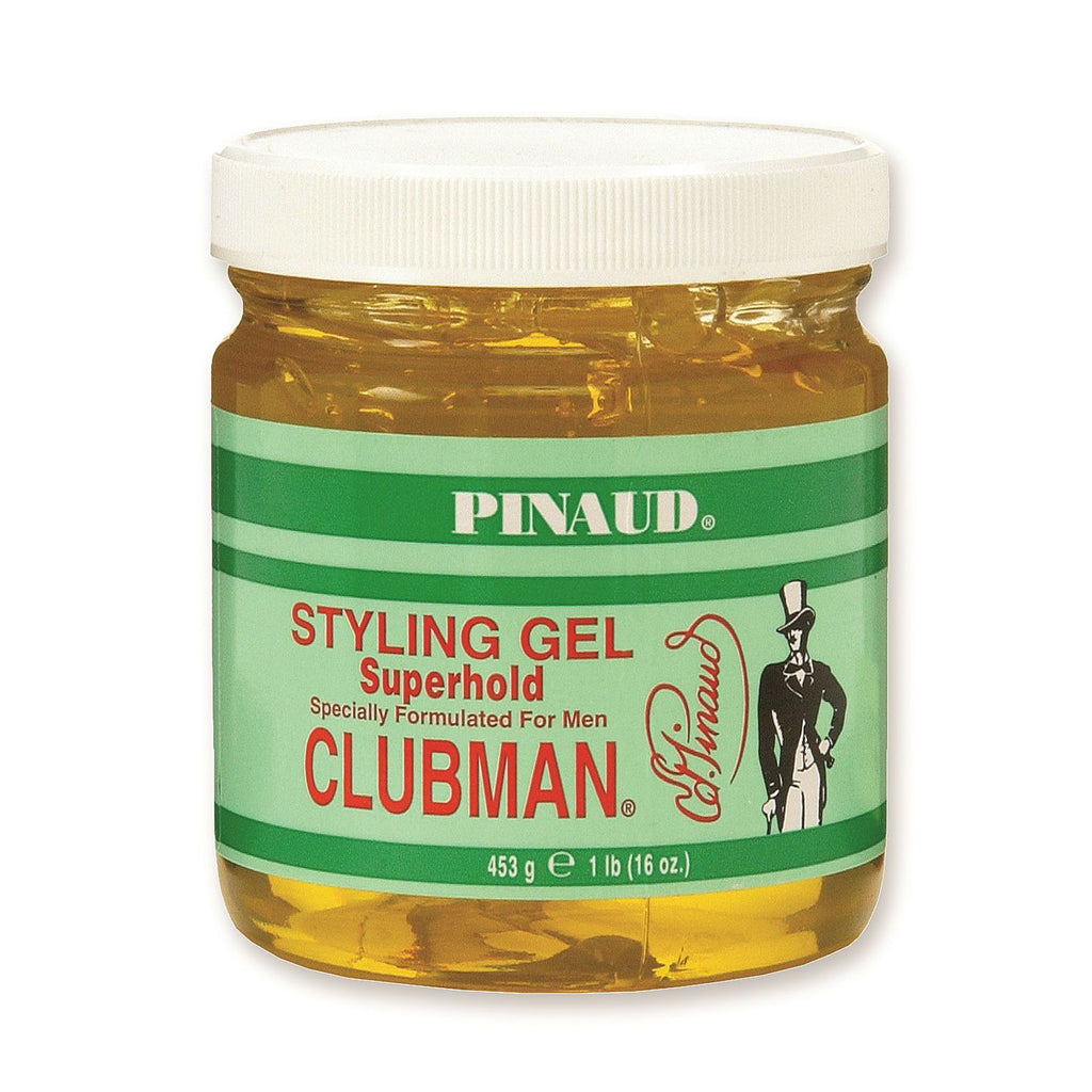 Clubman Pinaud Styling Gel Men's Grooming Cream Clubman Superhold