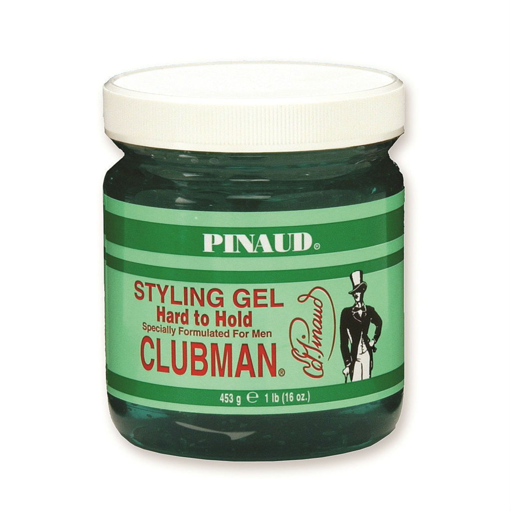Clubman Pinaud Styling Gel Men's Grooming Cream Clubman Hard to Hold
