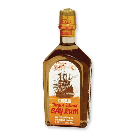 Clubman Virgin Island Bay Rum Aftershave/Cologne Aftershave Splash Clubman 6 oz (177 ml)