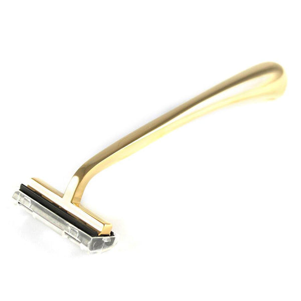 Col. Conk Razor Handle for Gillette Trac II Cartridges, Gold Tone - Fendrihan - 2