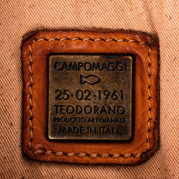 Campomaggi C06005 Leather Backpack, Cognac - Fendrihan - 14