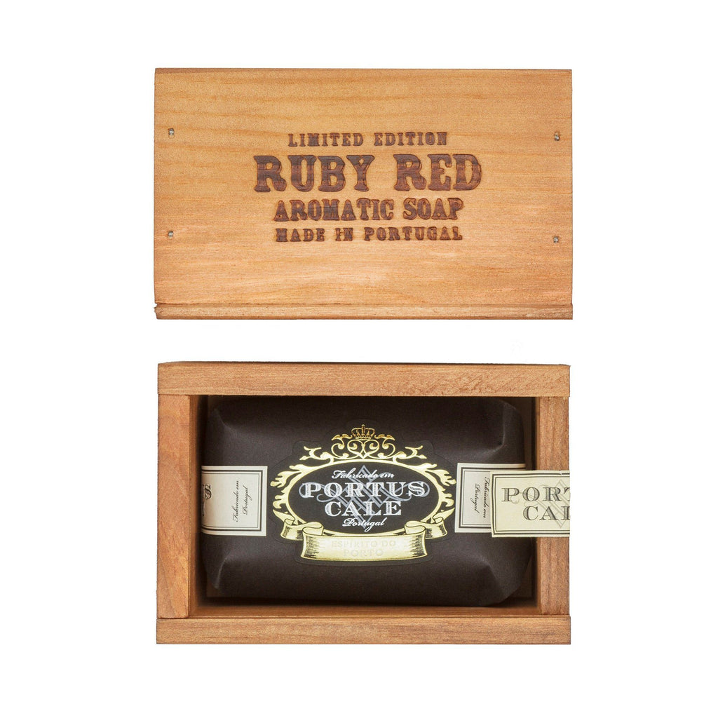 Portus Cale Ruby Red Soap in Gift Box Body Soap Castelbel