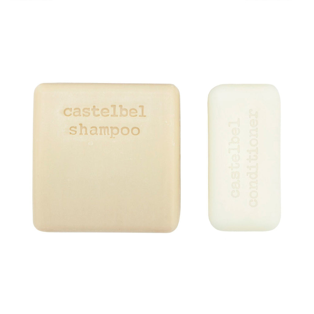 Castelbel Traveller Shampoo and Conditioner Soap Bar Set Shampoo Castelbel