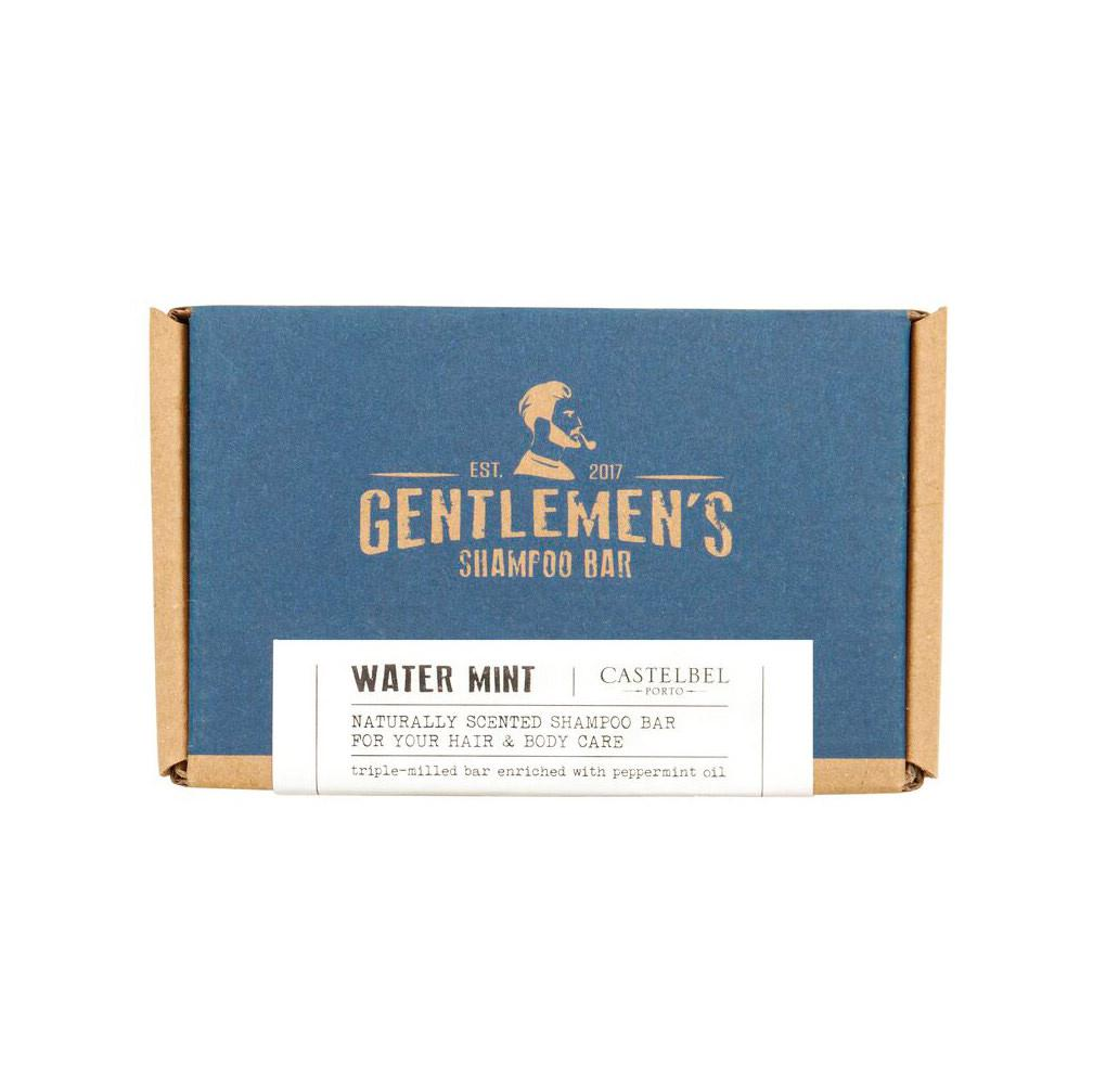 Castelbel Traveller Gentlemen's Shampoo Soap Bar Shampoo Castelbel Water Mint