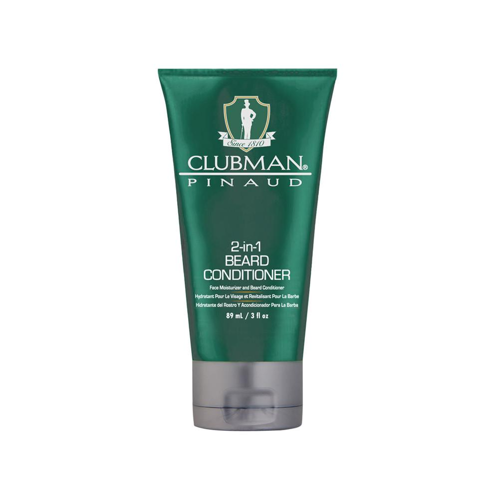 Clubman Pinaud 2-in-1 Beard Conditioner Face Moisturizer and Beard  Conditioner