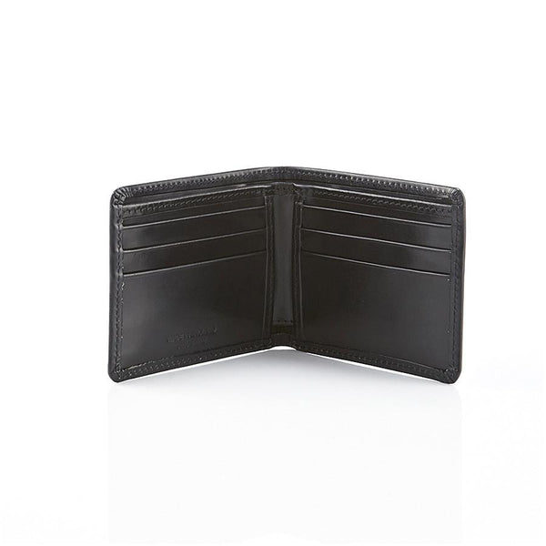Daines & Hathaway Bridle Hide Billfold Wallet, Black - Fendrihan - 2
