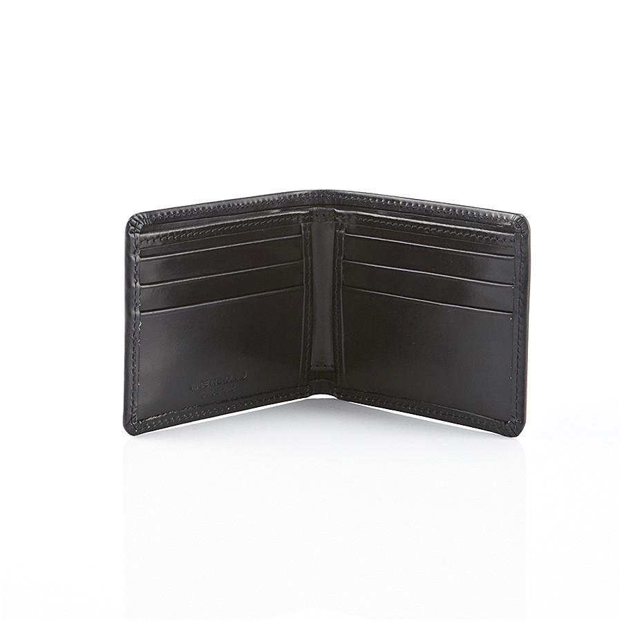 Daines & Hathaway Billfold Wallet Leather Wallet Daines & Hathaway Black