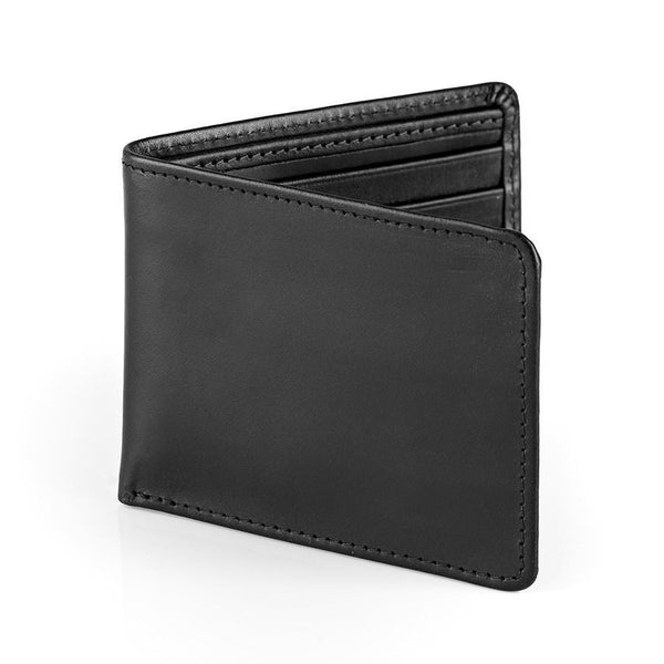 Daines & Hathaway Bridle Hide Billfold Wallet, Black - Fendrihan - 1