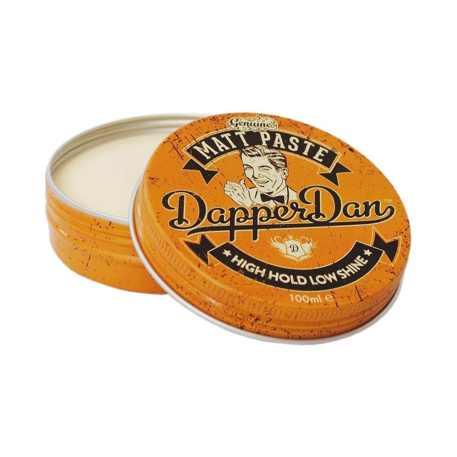 Dapper Dan Matt Paste Pomade with High Hold and Low Shine 100 ml Men's Hair Lotion Dapper Dan