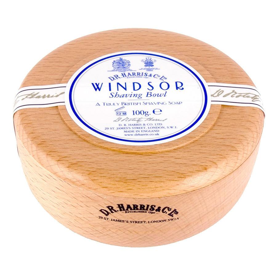 D.R. Harris Windsor Shaving Soap in Beech Wood Bowl Shaving Soap D.R. Harris & Co