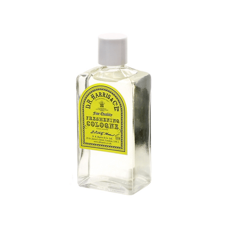 D.R. Harris Freshening Cologne Fragrance for Men D.R. Harris & Co 100 ml Glass Bottle