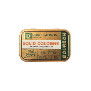 Duke Cannon Supply Co. Solid Cologne Fragrance for Men Duke Cannon Supply Co Bourbon