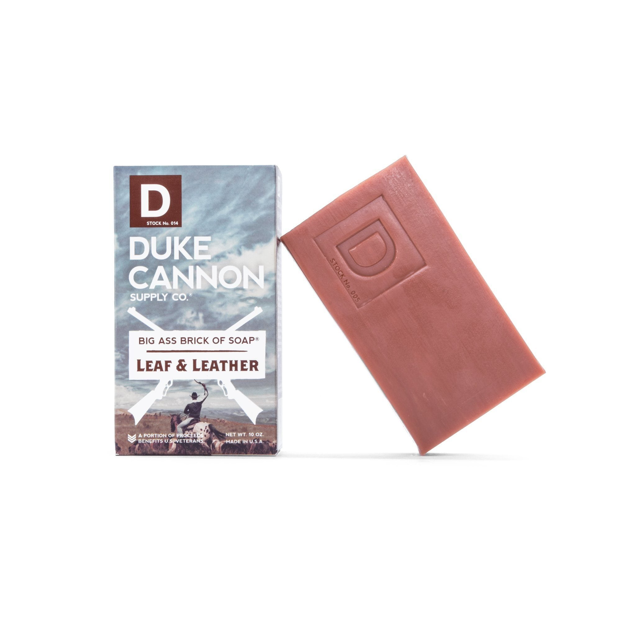 Duke Cannon Supply Co. Big Ass Brick of Soap, Leaf & Leather