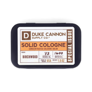 Duke Cannon Solid Cologne, Special Issue Fragrance for Men Duke Cannon Supply Co Birchwood