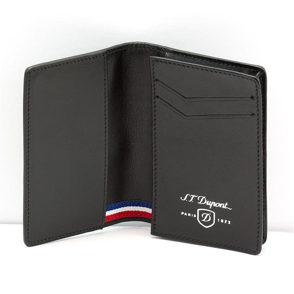 S.T. Dupont Defi Leather Business Card Case, Carbone - Fendrihan - 2