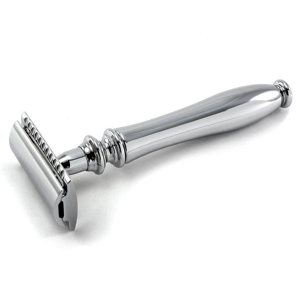Edwin Jagger Chatsworth Classic Double-Edge Razor, Polished - Fendrihan - 1