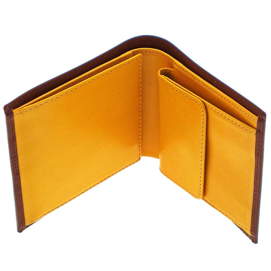 Ettinger Bridle Hide Billfold with 6 CC Slots and Coin Pocket, Assorted Colors - Fendrihan - 1