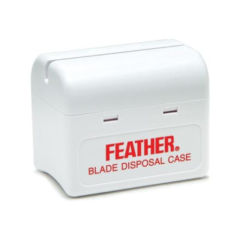 Feather Blade Bank, Disposal Case Razor Blades Disposal Case Feather