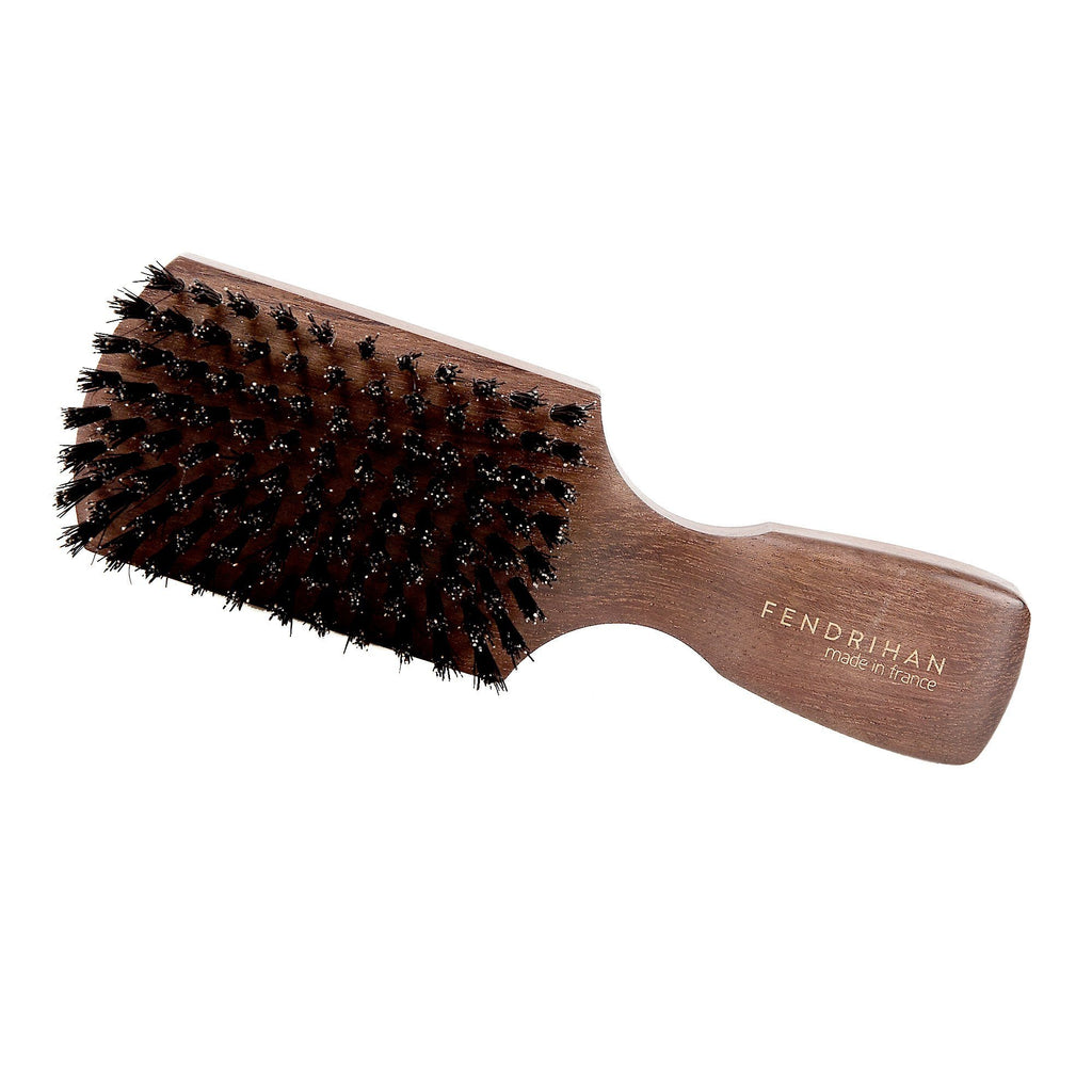 Fendrihan Bubinga Wood Hairbrush with Boar Bristles, Made in France Hair Brush Fendrihan