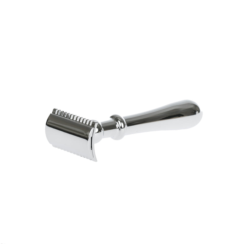 "Fendrihan ""Dixon"" Open Comb Double Edge Safety Razor, Rounded Handle"