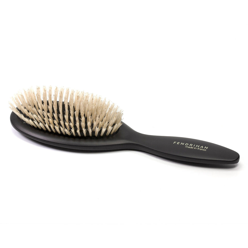 Fendrihan Oval Pneumatic Hairbrush with Soft Bristles, Made in France Hair Brush Fendrihan