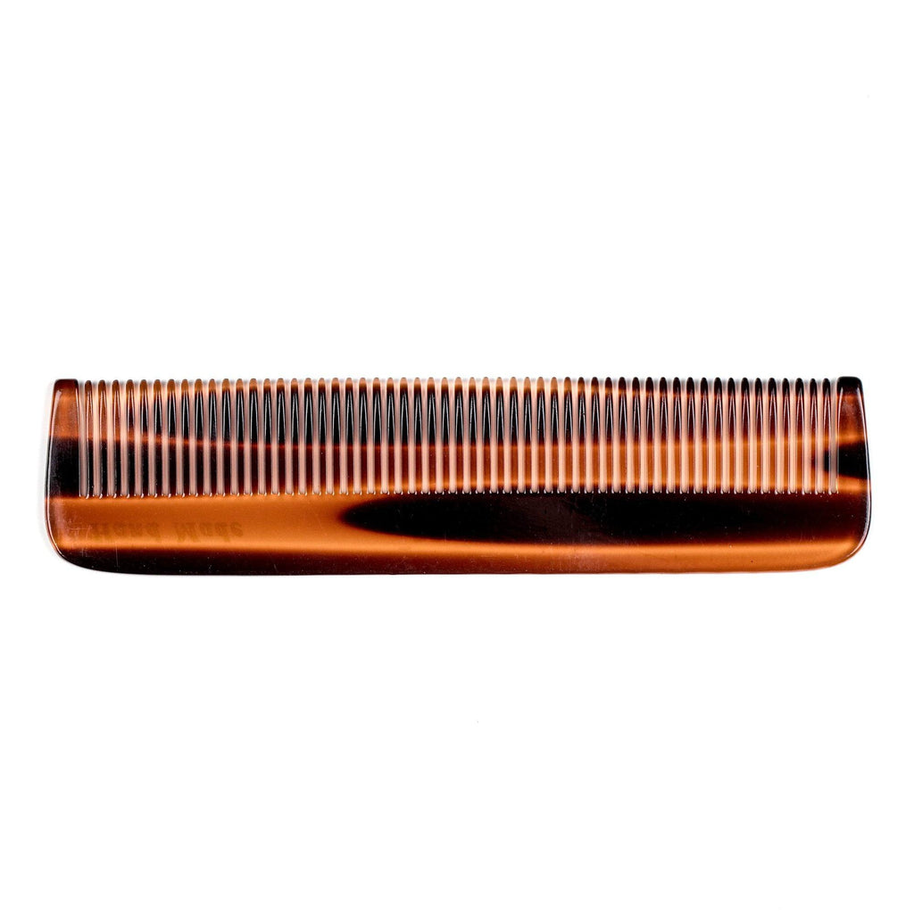 Fendrihan Hand-Finished Fine-Tooth Pocket Comb, Faux Tortoise Comb Fendrihan