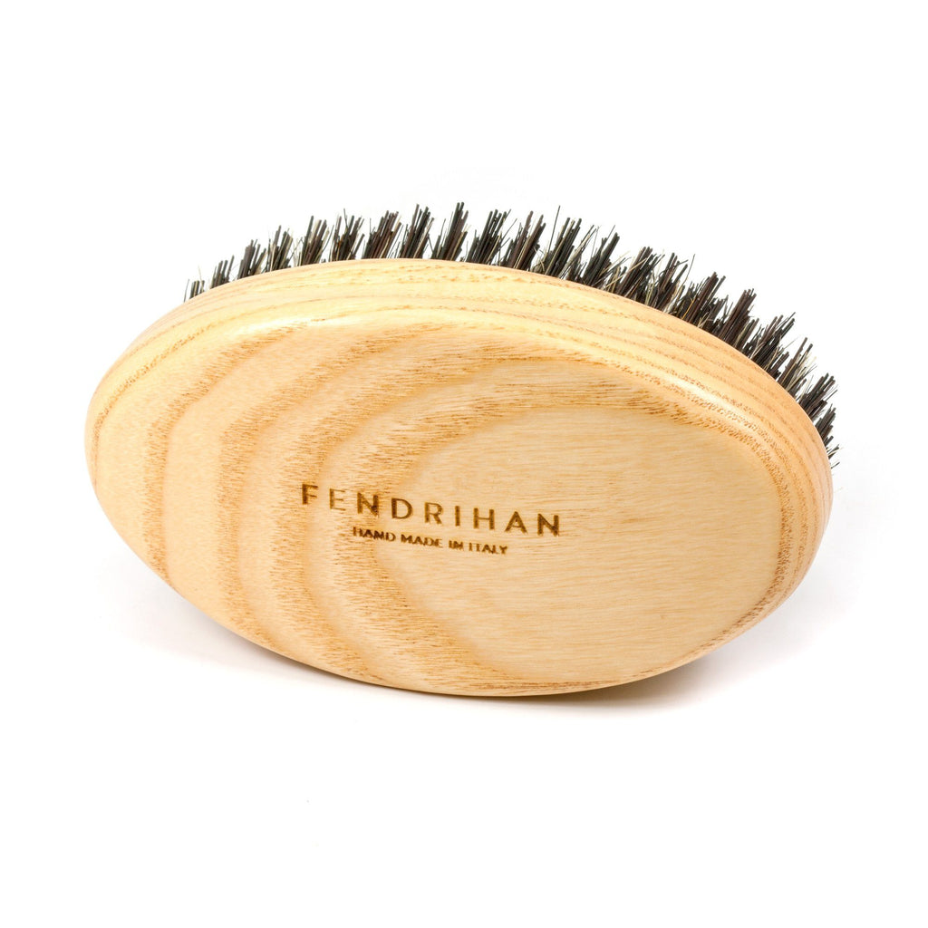 Fendrihan Ash Wood Military Hair Brush with Boar Bristles - Made in Italy Hair Brush Fendrihan