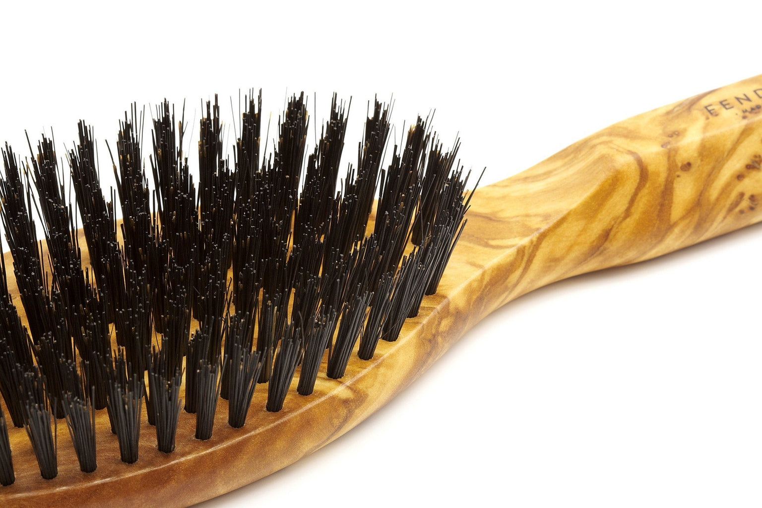 Men's Olivewood Bristle Hairbrush - Made in Germany Hair Brush Fendrihan