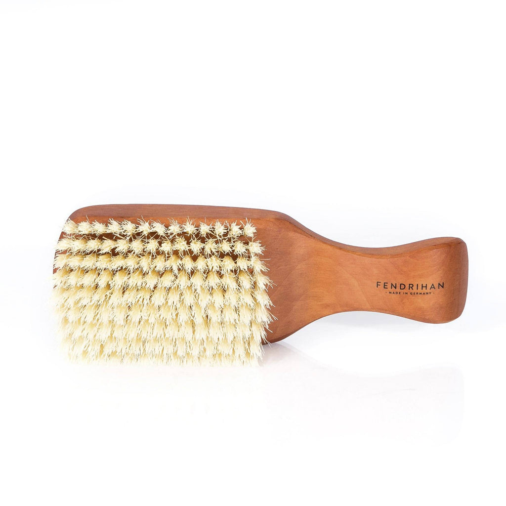 Men's Pearwood Hairbrush with Extra-Soft Light Bristles - Made in Germany Hair Brush Fendrihan