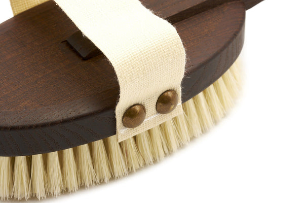 Detachable Thermowood Bath Brush with Long Handle - Made in Germany - Fendrihan - 3