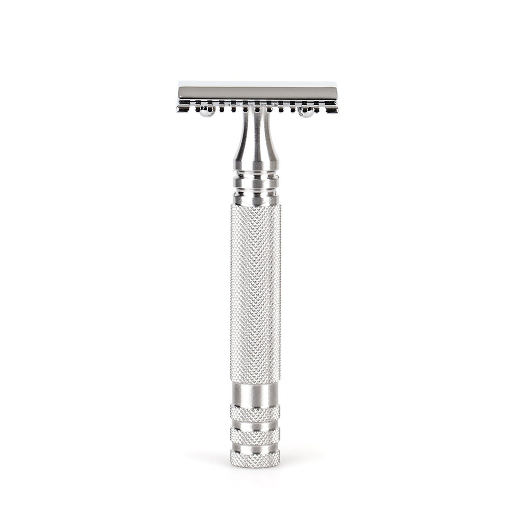 "Fendrihan ""Kingston"" Open Comb Safety Razor Head with Fendrihan Stainless Steel Handle Double Edge Safety Razor Fendrihan Ambassador"