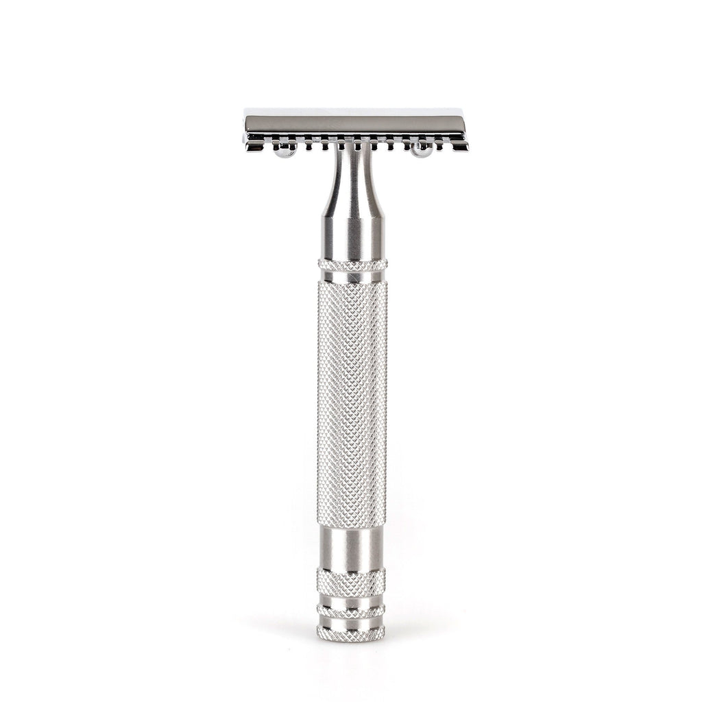 "Fendrihan ""Kingston"" Open Comb Safety Razor Head with Fendrihan Stainless Steel Handle Double Edge Safety Razor Fendrihan Artist"
