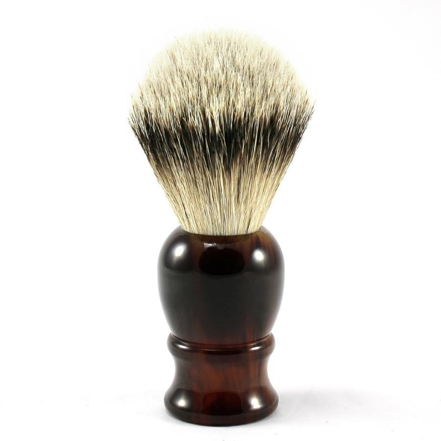 Fendrihan Classic Silvertip Shaving Brush Badger Bristles Shaving Brush Fendrihan Faux Tortoise