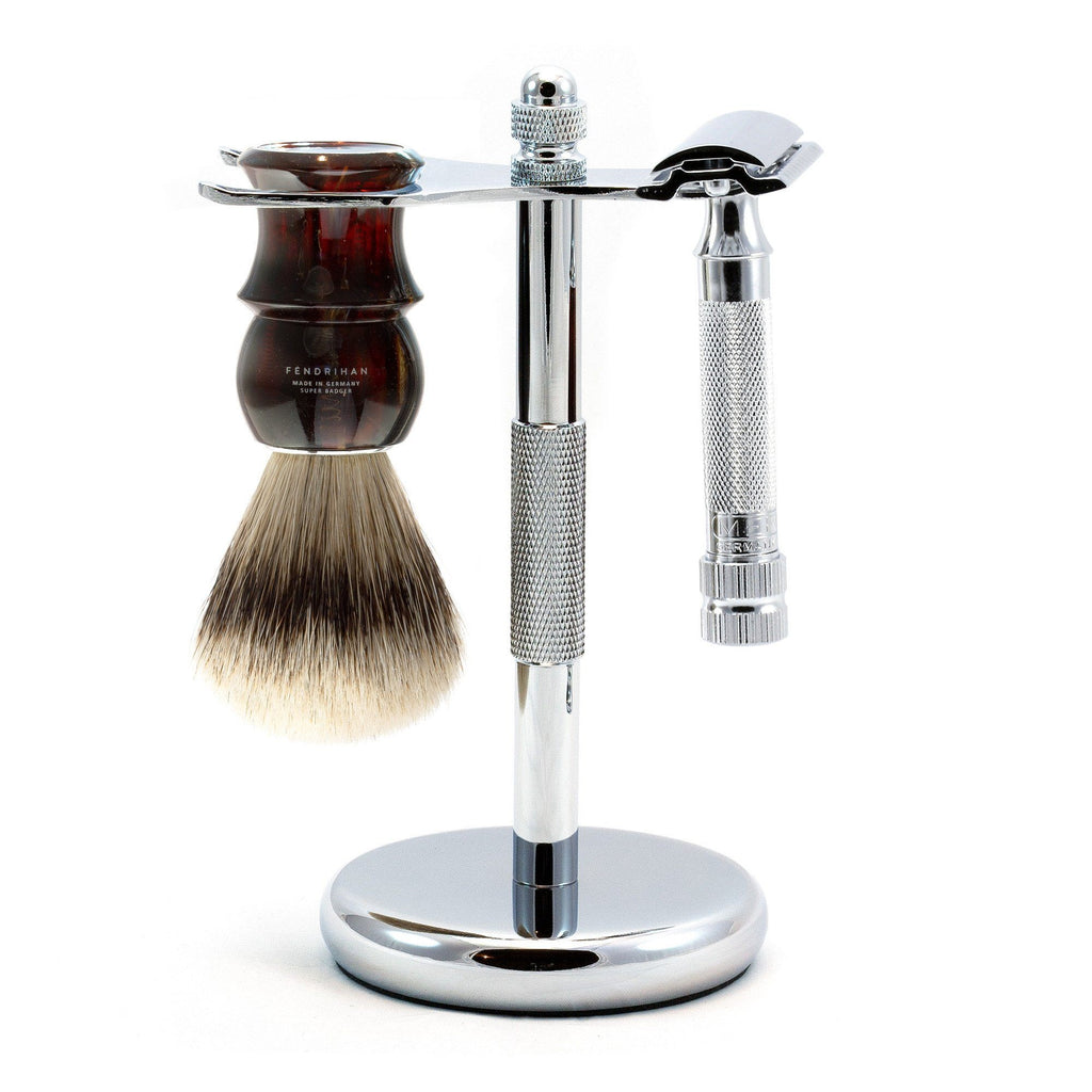 Merkur 34C HD 3-Piece Classic Wet-Shaving Kit, Save $25 Shaving Kit Fendrihan Tortoise