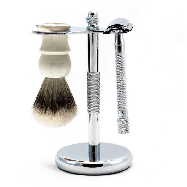 Merkur 23C Long-Handle 3-Piece Classic Wet-Shaving Kit, Save $25 - Fendrihan - 2