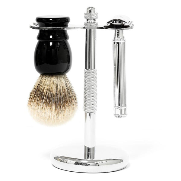 3-Piece Wet Shaving Set with Fendrihan Dacian Draco Safety Razor, Save $20 - Fendrihan - 1