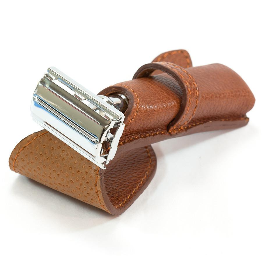 Fendrihan Soft Leather Safety Razor Sheath by Ruitertassen Grooming Travel Case Fendrihan