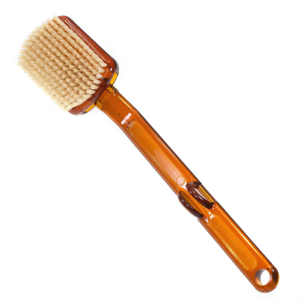 Detachable Plastic Bath Brush with Long Handle - Made in Germany - Fendrihan - 1