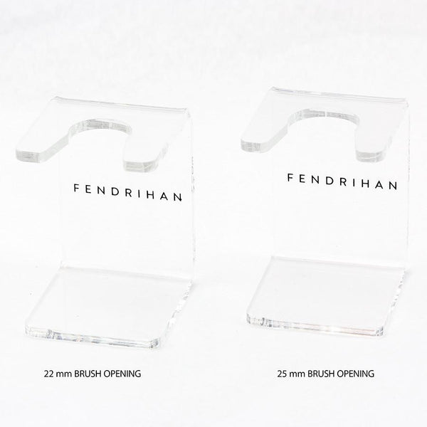 Fendrihan Clear Acrylic Shaving Brush Stand, Choose Size - Fendrihan - 2