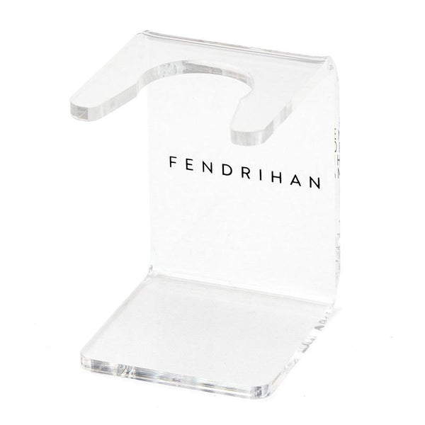 Fendrihan Clear Acrylic Shaving Brush Stand, Choose Size - Fendrihan - 1