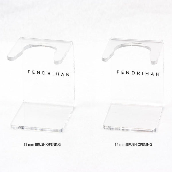 Fendrihan Clear Acrylic Shaving Brush Stand, Choose Size - Fendrihan - 4