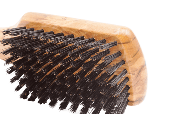 Men's Olivewood Bristle Brush - Made in Germany - Fendrihan - 3
