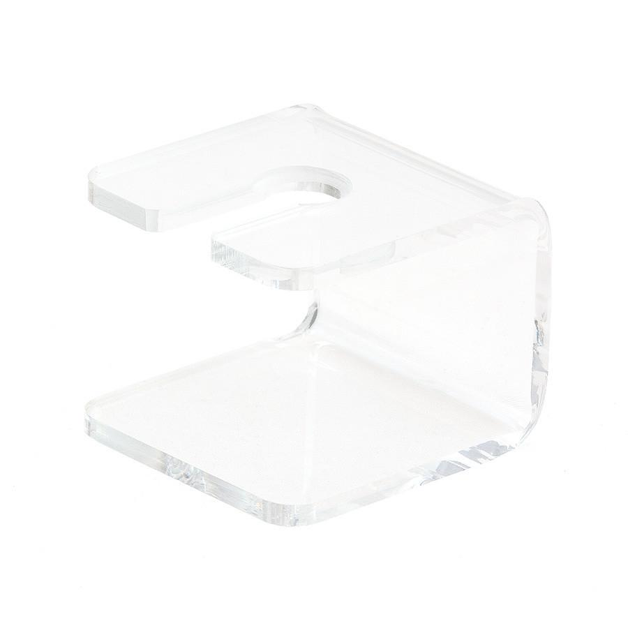 Short Acrylic Stand for Safety Razor, Clear Shaving Stand Discontinued