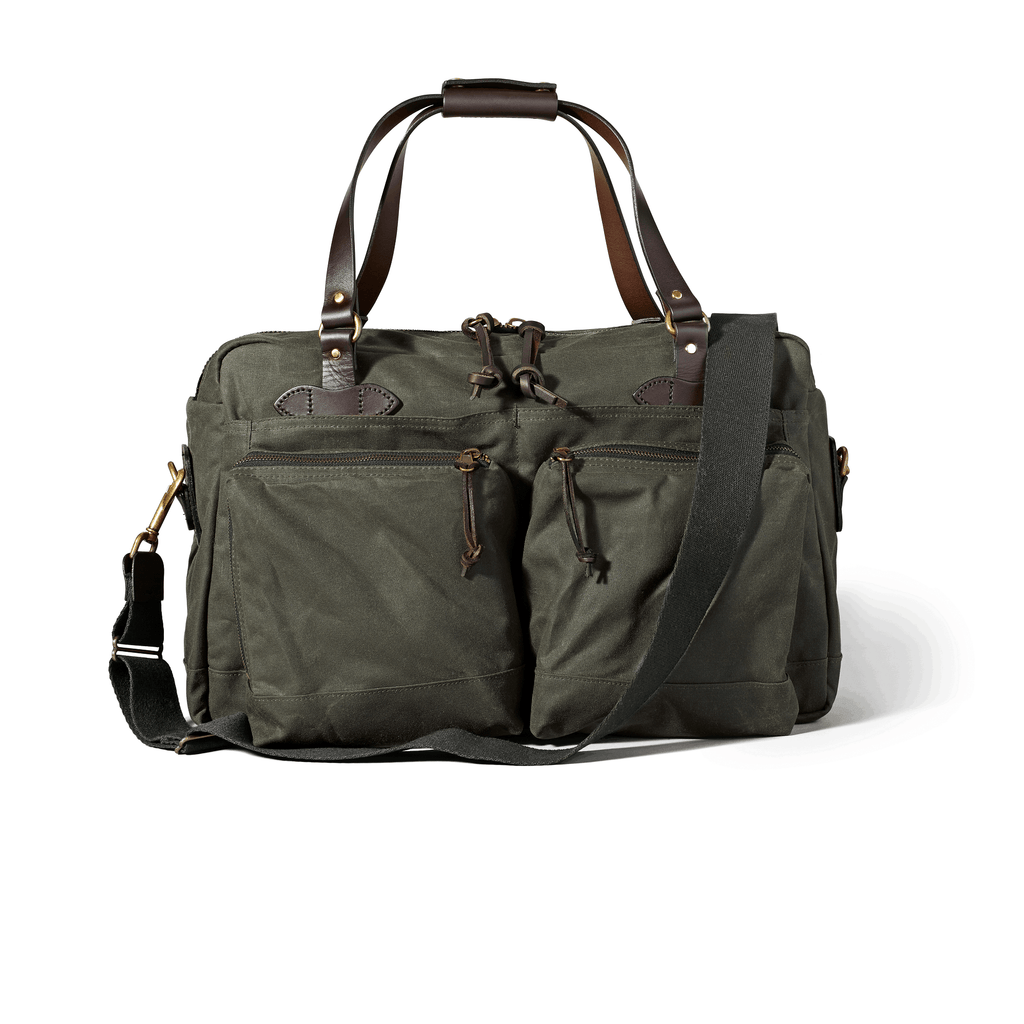 FILSON 48-Hour Tin Cloth Duffle Bag Duffle Bag FILSON Otter Green