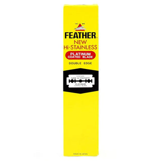 200 Feather Double-Edge Safety Razor Blades Razor Blades Feather