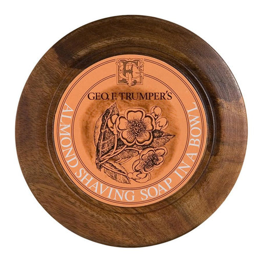 Geo. F. Trumper Almond Shaving Soap with Wooden Bowl - Fendrihan