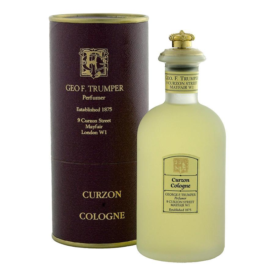 Geo. F. Trumper Curzon Cologne Glass Bottle 100ml Fragrance for Men Geo F. Trumper